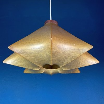 Mid-century 'Cocoon' pendant lamp by Achille Castiglioni for Flos, Italy 1960s