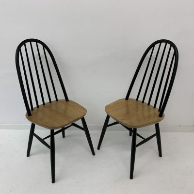 Set of 2 dining chairs, 1960's