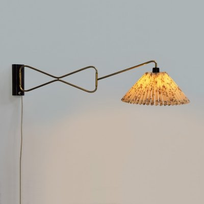 1950s swing-arm wall light by Cosack Germany