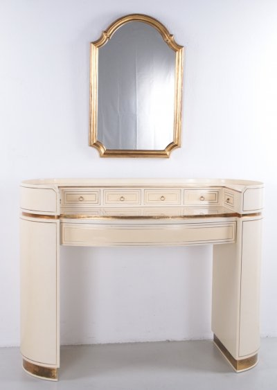 Hollywood Regency Dressing Table by Arredoclassic, Italy 1970s