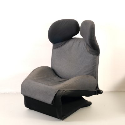 Wink lounge chair by Toshiyuki Kita for Cassina, 1980's