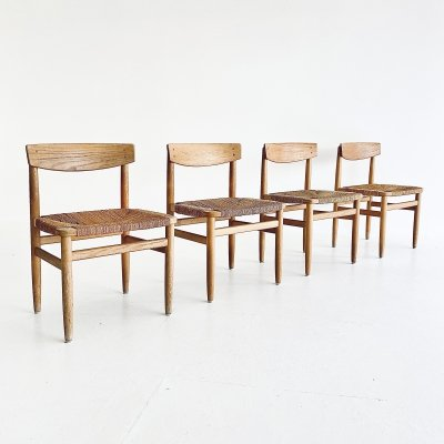 Set of 4 Oresund dining chairs by Børge Mogensen for Karl Andersson & Söner, 1950s