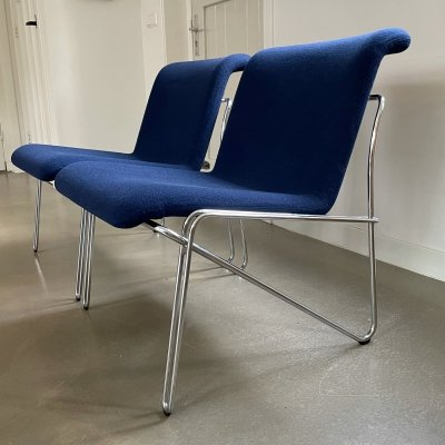Pair of design chairs by Labofa Mobler AS, Denmark