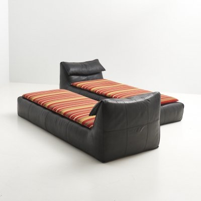 Two 'Le Bambole' Daybeds by Mario Bellini for B&B Italia, Italy 1970's