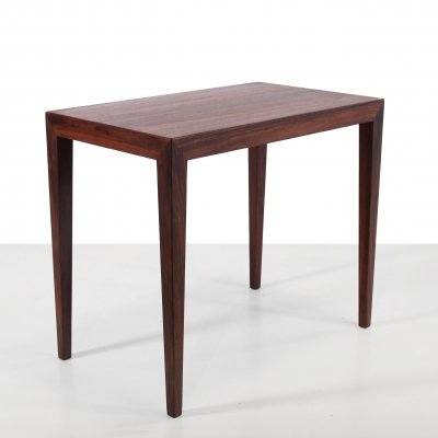 Rosewood table by Severin Hansen for Haslev