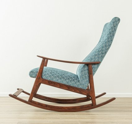 1950s rocking chair in beech