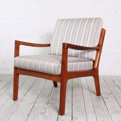 'Senator' Easy Chair by Ole Wanscher for France & Son, 1960s