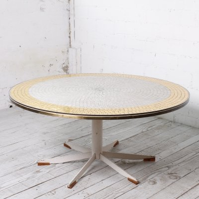 Mosaic Coffee table by Berthold Müller, 1950s