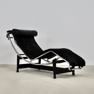 LC4 Lounge Chair by Le Corbusier for Cassina, 1970s