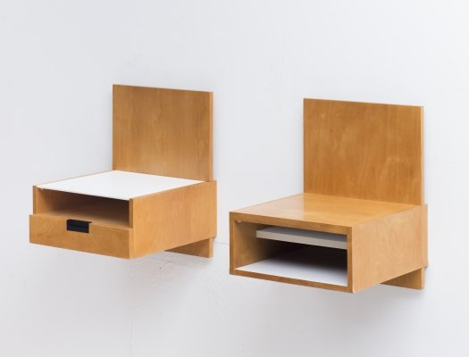 Set of night stands by Cees Braakman for Pastoe, 1960's