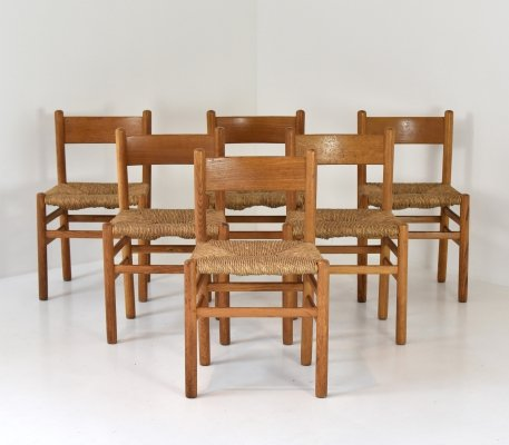 Modernist set dining chairs, 1950's