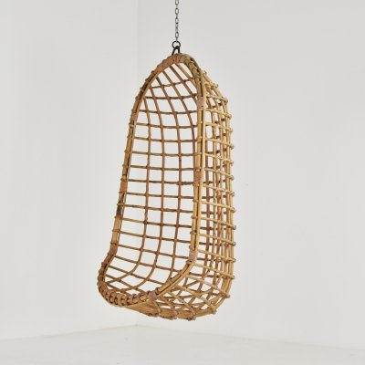 Ceiling mounted Egg chair by Rohé Noordwolde, The Netherlands 1970's
