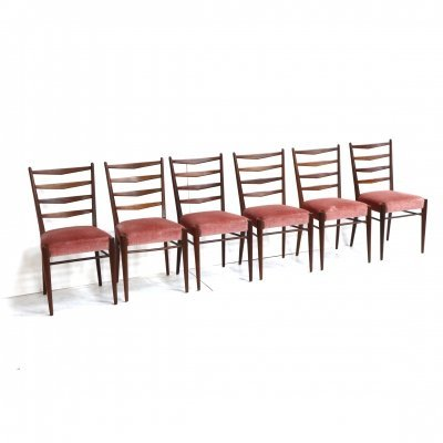 Set of 6 'model ST09' chairs by Cees Braakman for Pastoe