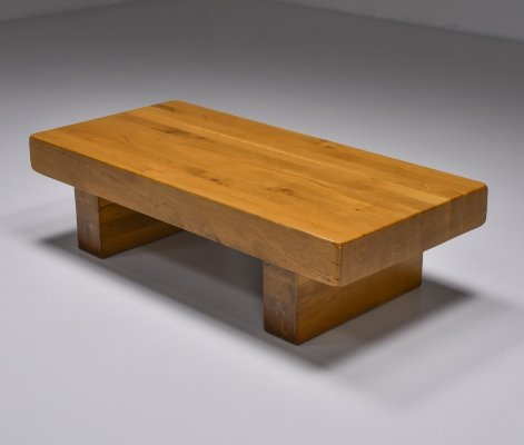 Craftsman Wooden Coffee Table, 1960's