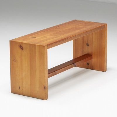 Pinewood bench, France 1960s