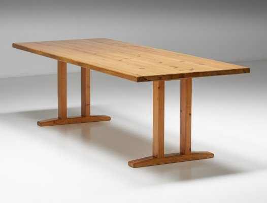 Pinewood Dining Table, 1960's