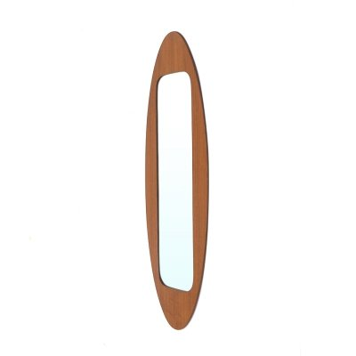 Mirror with frame in wood by Campo & Graffi for Home, 1950s