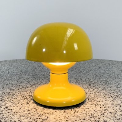 Yellow Jucker 147 Table Lamp by Tobia & Afra Scarpa for Flos, 1960s