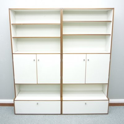 M 125 Shelving system with Drawer by Hans Gugelot for Bofinger, 1950s