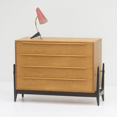 1950s Belgian chest with drawers