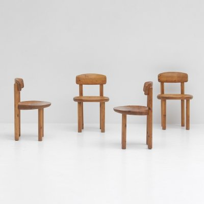 Set of 5 dining chairs by Rainer Daumiller, 1970s