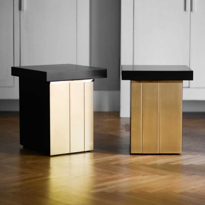 Pair of side tables by Luciano Frigerio for Frigerio di Desio, 1970s