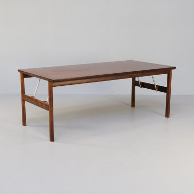 60s Rosewood dining table for Sibast