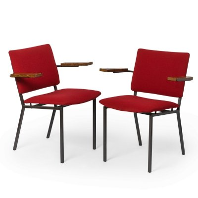2 x arm chair by Gerrit Veenendaal for Kembo, 1960s