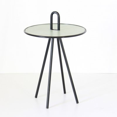 1960s vintage round side table