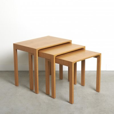 Set of nesting tables by Renz, Germany 1960s