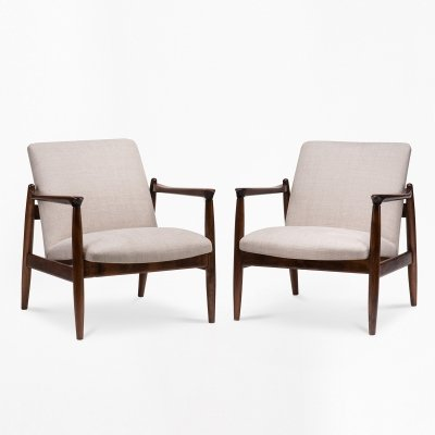 Pair of GFM 64 armchairs by E.Homa