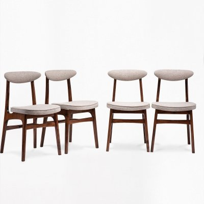 Set of 4 type 200-190 chairs by R. T. Hałas