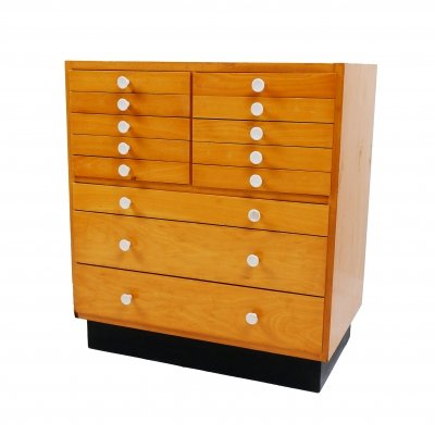Vintage Dutch chest of drawers, 1960s