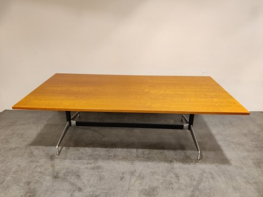 Charles & Ray Eames dining table or conference table, 1980s