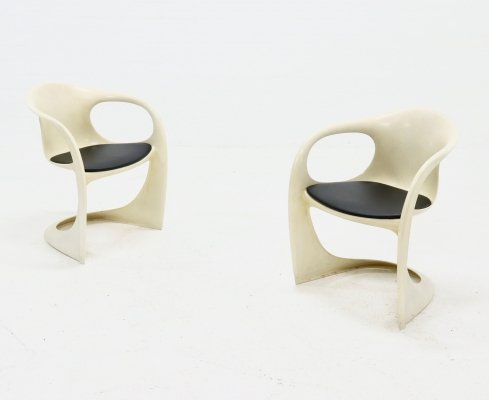 Set of 2 Casalino Chairs by Alexander Begge for Casala, 1974