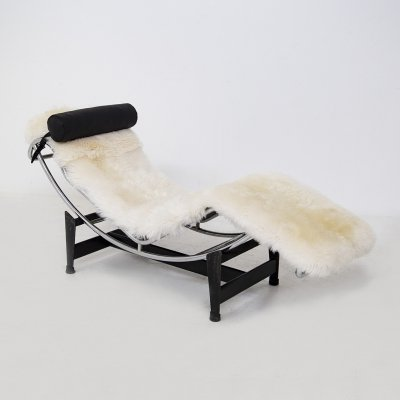 LC4 Chaise Longue by Le Corbusier, C. Perriand & P. Jeanneret for Cassina