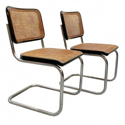 Pair of Cesca dining chairs by Marcel Breuer for Thonet, 1960s