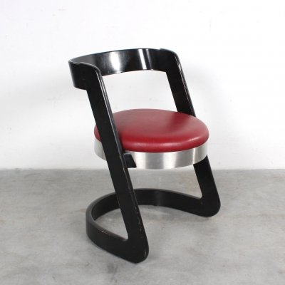 Dining chair by Willy Rizzo for Mario Sabot, 1970s