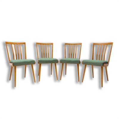 Set of 4 Mid century Dining Chairs, 1960s