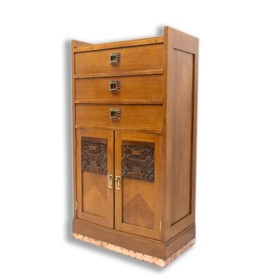 Small Viennese Secession chest of drawers, 1910
