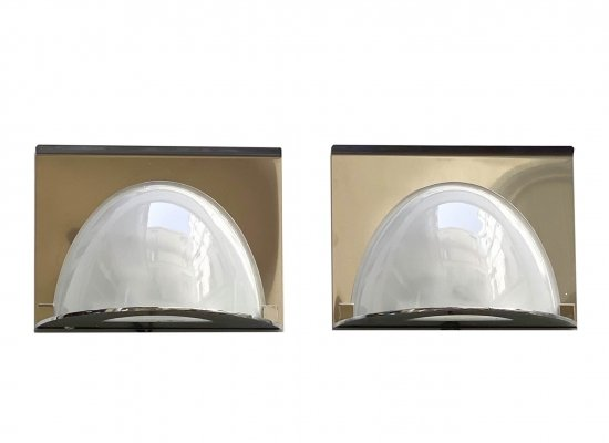 Pair of 'LP23' Wall lamps by Luigi Caccia Dominioni for Azucena, 1980s