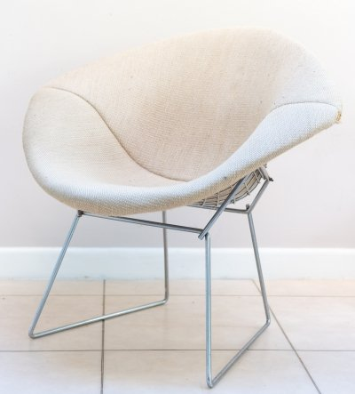 Early production diamond chair by Harry Bertoia for Knoll, 1960s