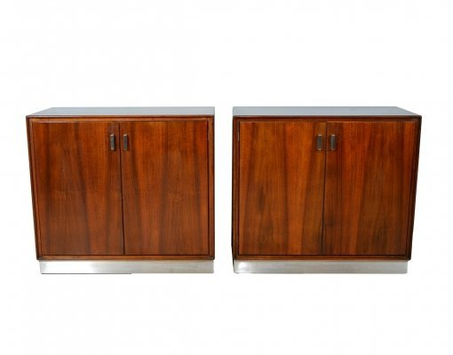 Pair of Rosewood cabinets by Giulio Moscatelli for Formanova, 1970s