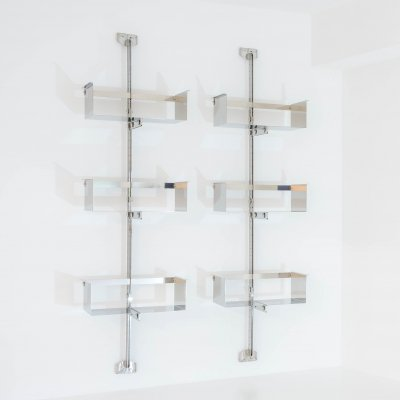 P 700 wall-mounted shelf system by Vittorio Introini for Saporiti, 1960s