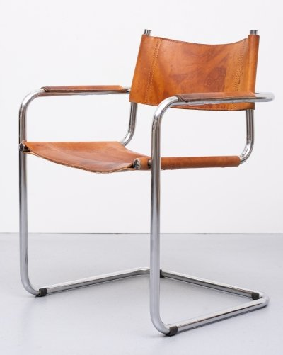 S34 arm chair by Mart Stam for Thonet, 1960s