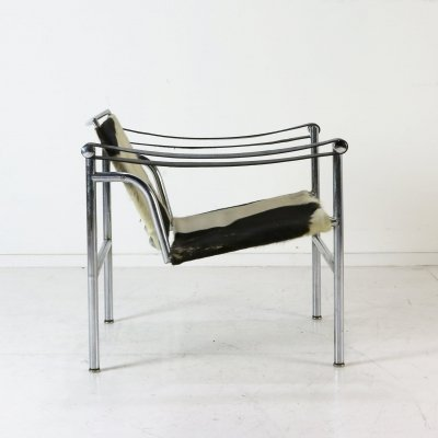 Early (#3133) LC1 chair by Le Corbusier for Cassina, 1960s