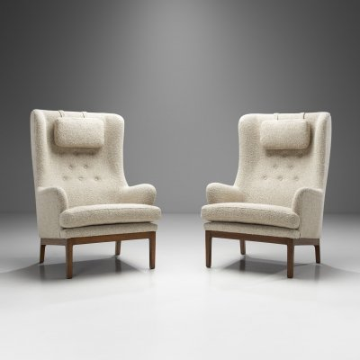 Arne Norell 'Krister' Armchairs for AB Arne Norell Aneby, Sweden 1960s