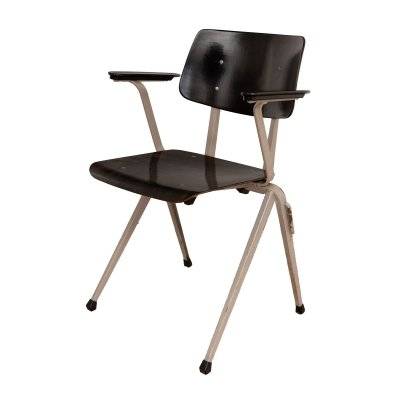 Model S17 Industrial chair with armrests by Galvanitas, 1970s