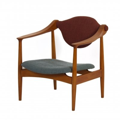 Danish Arm Chair made of Pear Wood, 1960s