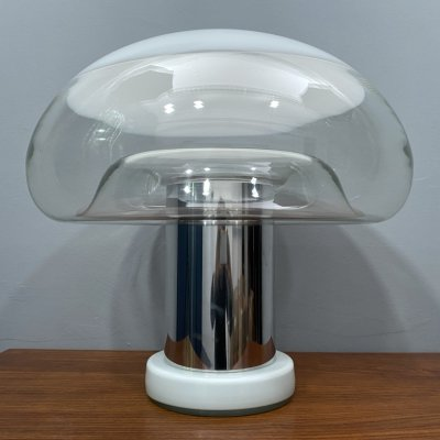 Murano L419 Table Lamp by Michael Red for Vistosi, Italy 1970s